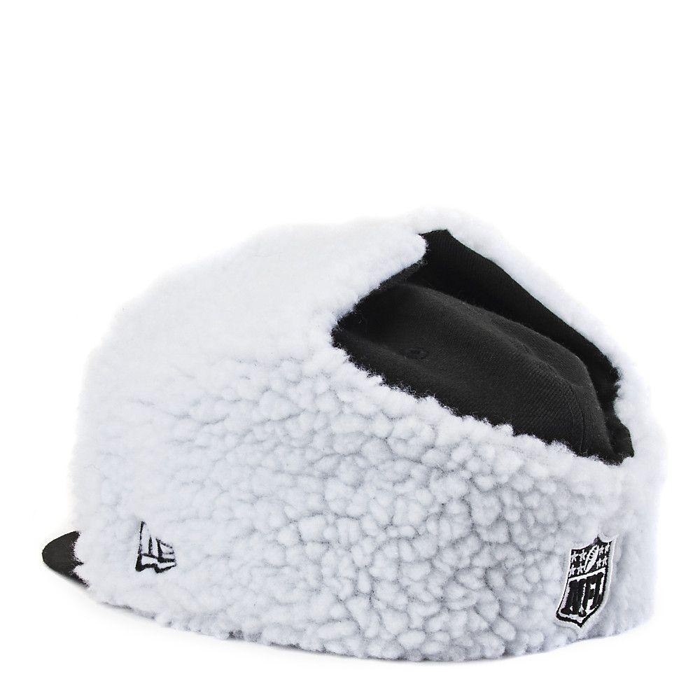 bfa59ec8a83 Chicago Bears Flurry Fitted Cap Black White