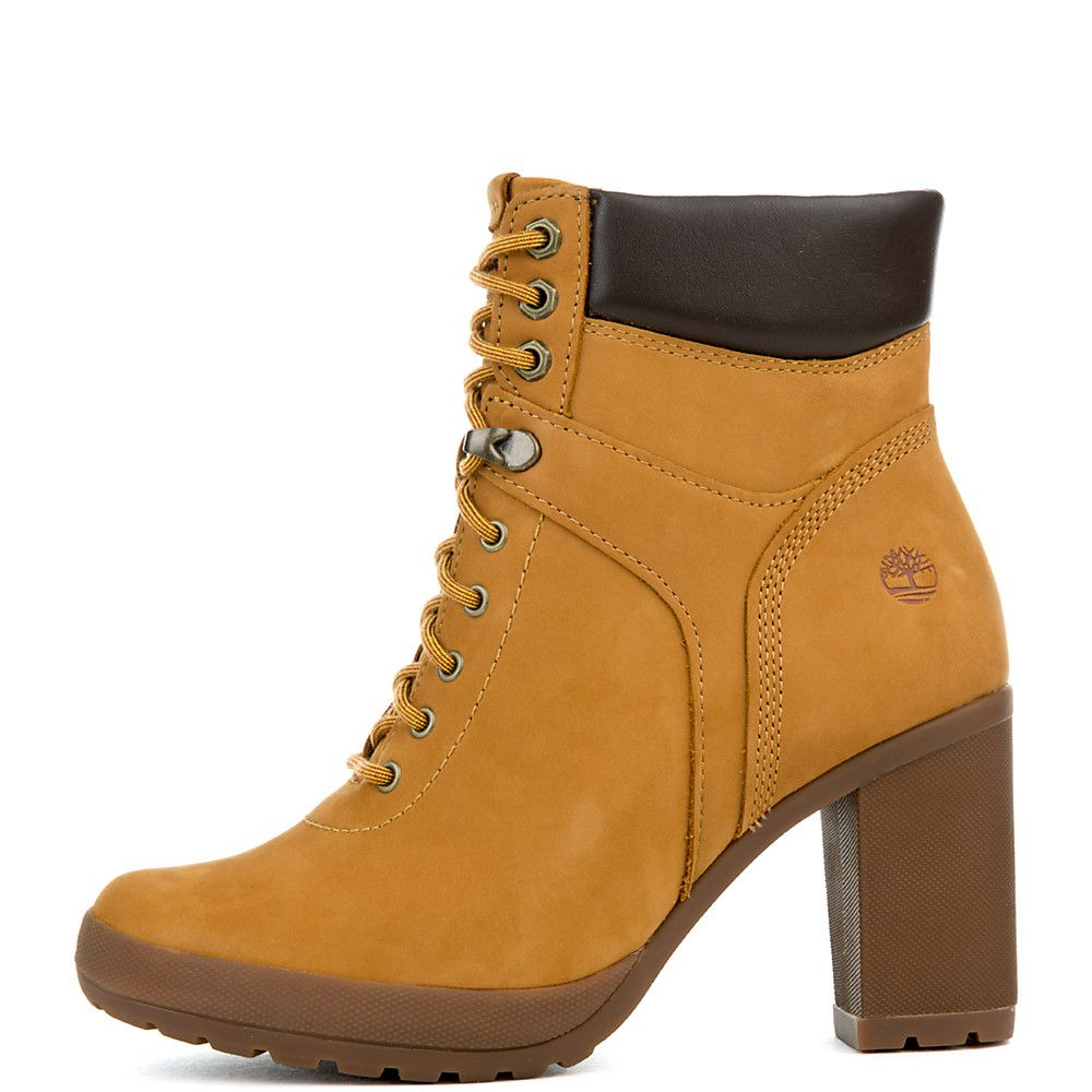f23307a3517 Women's Camdale Field High Heel Boot WHEAT NUBUCK