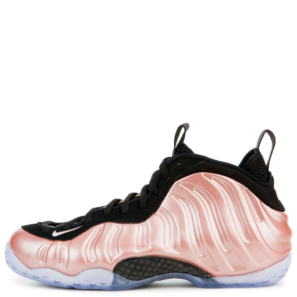 MENS NIKE AIR FOAMPOSITE ONE RUST PINKWHITEBLACK