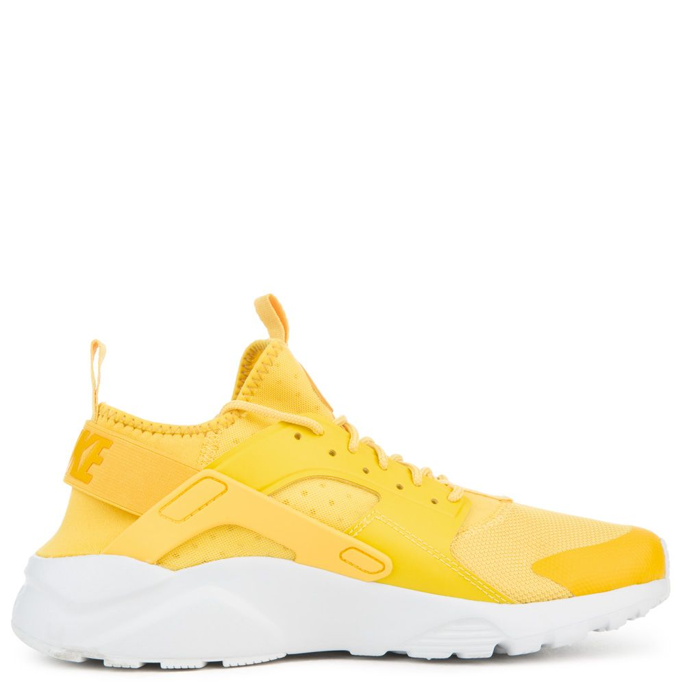 MEN S NIKE NIKE AIR HUARACHE RUN ULTRA MINERAL YELLOW VIVID SULFUR 8ee63e584