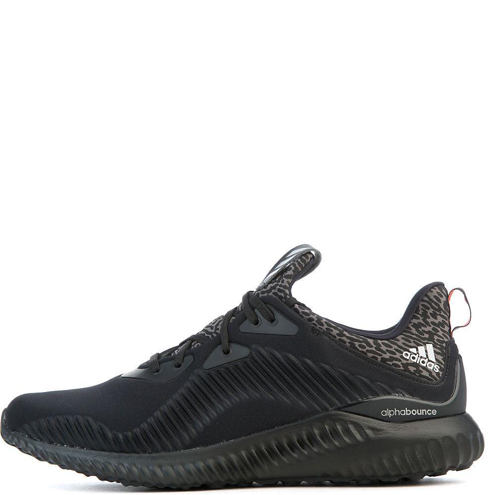 Hombre alphabounce Athletic Lifestyle Sneaker Sneaker Sneaker Negro Gris Plata 415bd6