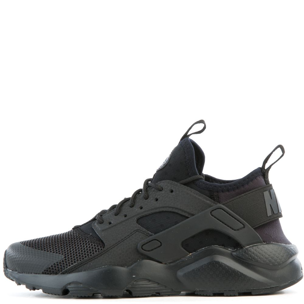 AIR HUARACHE RUN ULTRA GS. BLACK BLACK df119ab936c