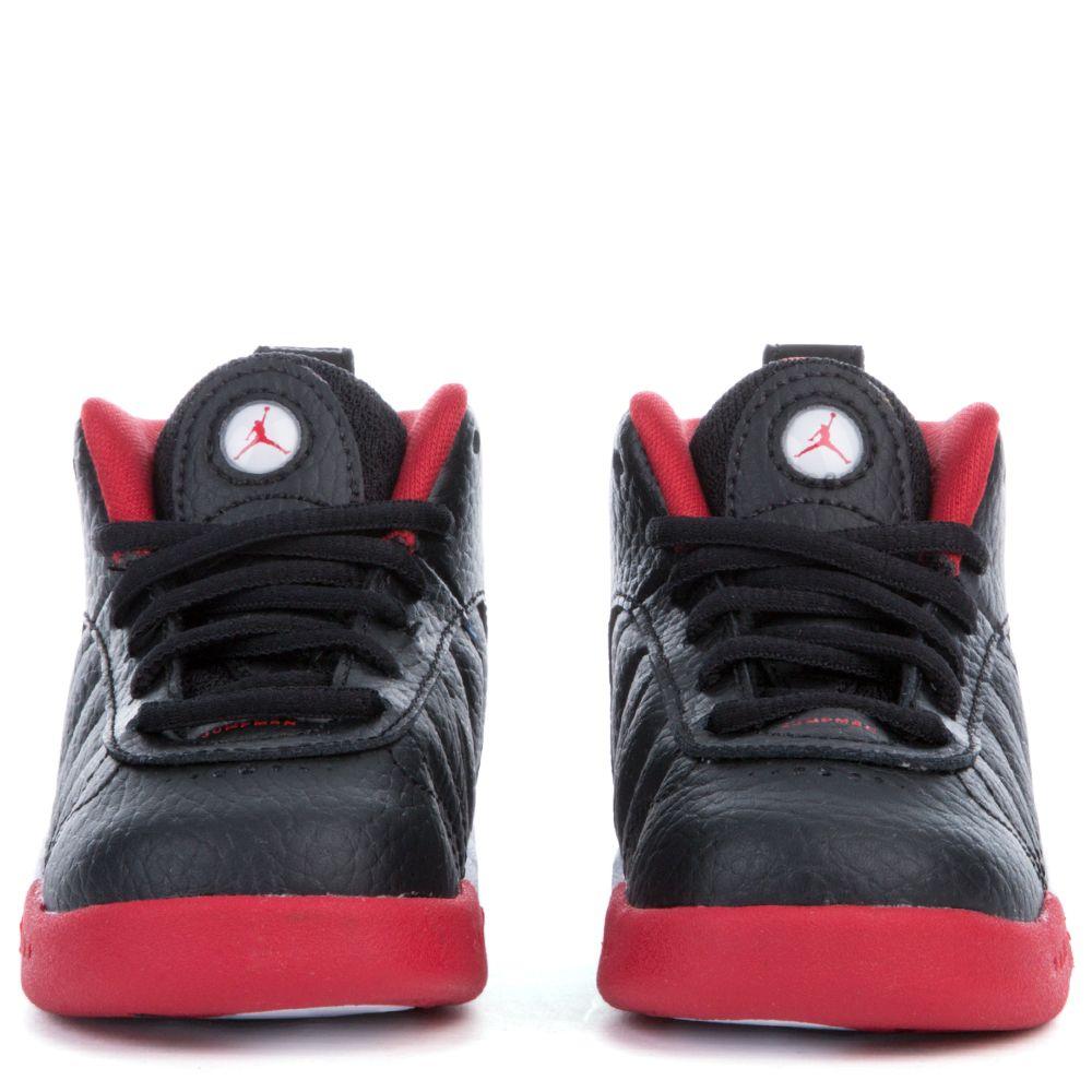 JORDAN JUMPMAN PRO BT BLACK METALLIC SILVER-VARSITY RED-WHITE 2af8098a6