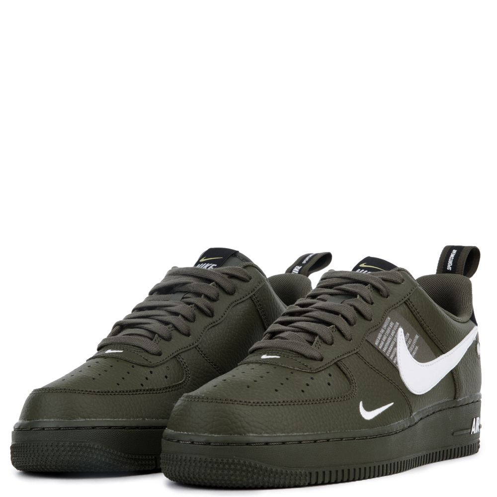 finest selection 98b41 50fbb AIR FORCE 1 07 LV8 UTILITY OLIVE CANVASWHITE-BLACK-TOUR YELL