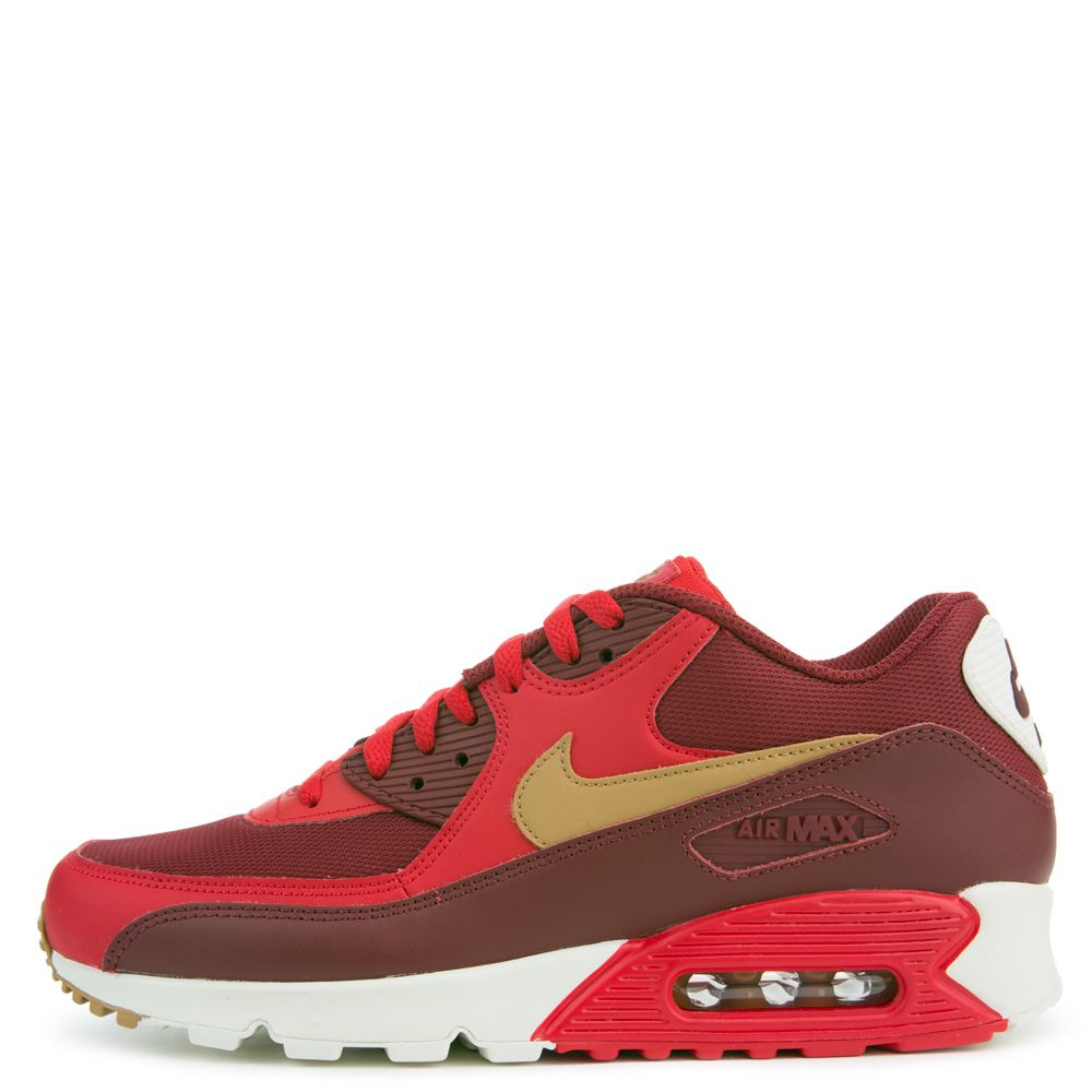 aa26c689724 Air Max 90 Essential GAME RED ELEMENTAL GOLD TEAM RED SAIL