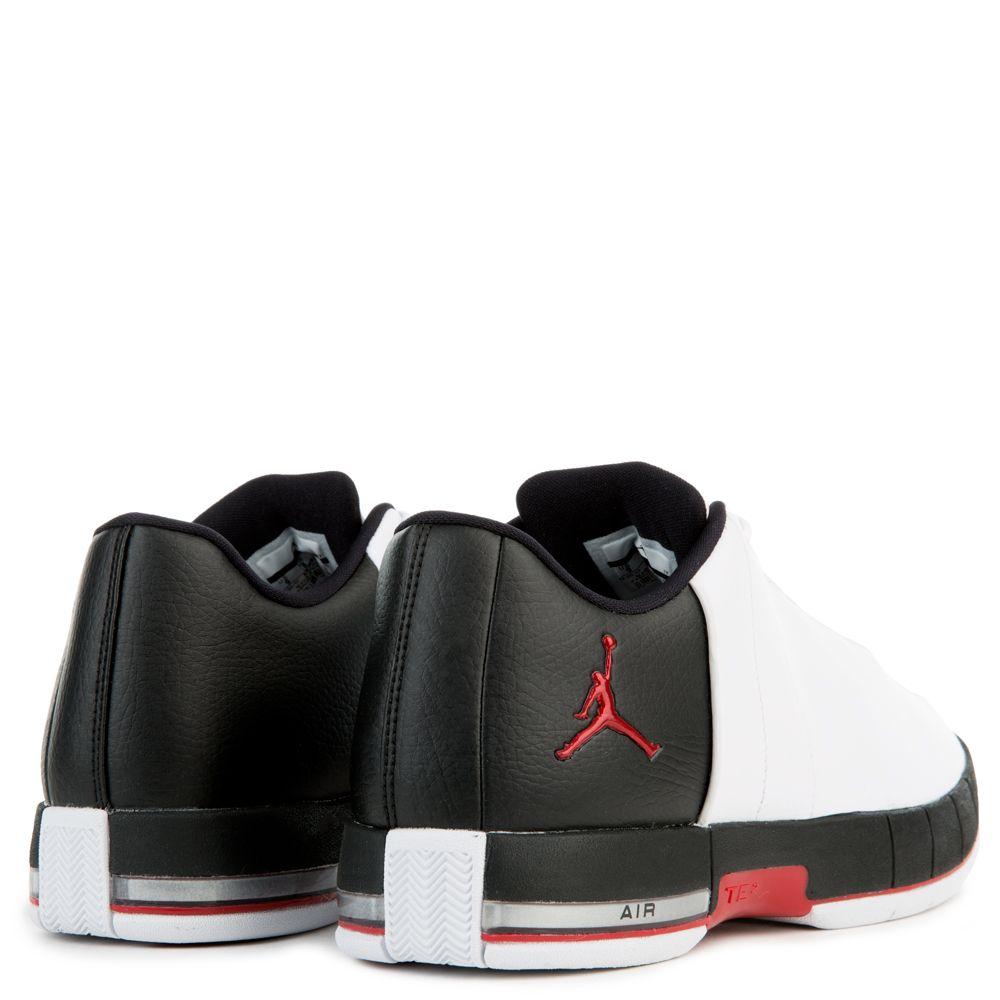 sports shoes fb4d5 dfcb1 ... MEN S JORDAN TEAM ELITE 2 LOW WHITE BLACK GYM RED ...