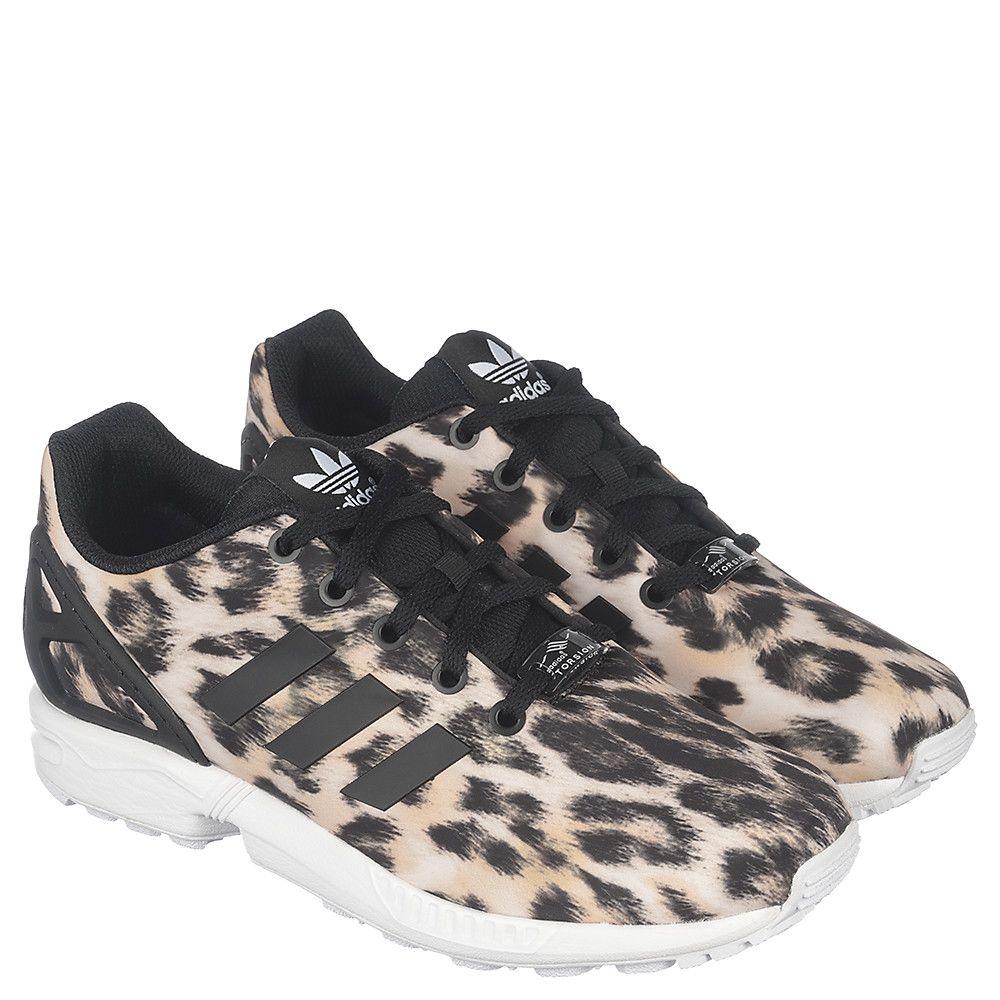 nouveau produit 23b58 94ea2 Youth Running Sneaker ZX Flux Leopard