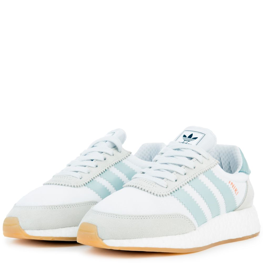 5aa977c1dad adidas Iniki Women s Off-White Sneakers FTWWHT TACGRN GUM3