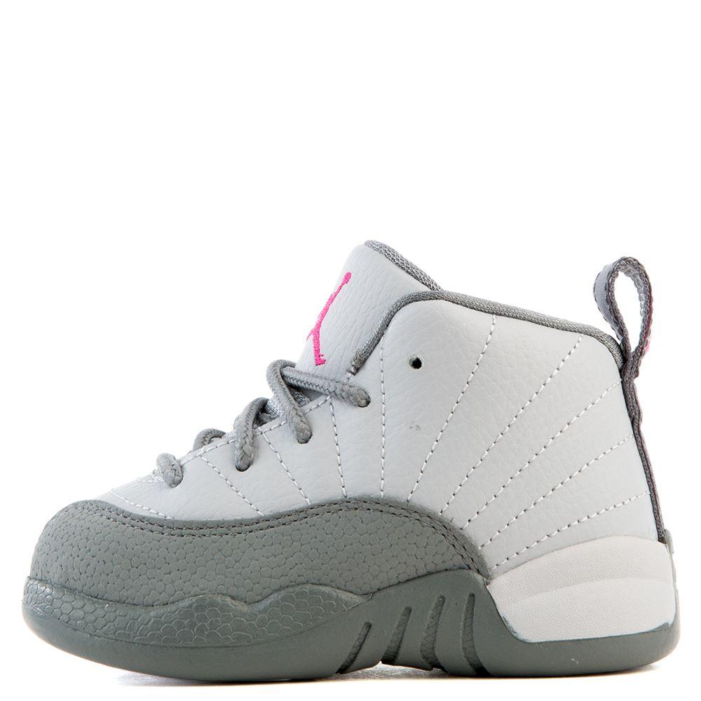 b0ee9065d6acb8 Jordan 12 Retro Gt Grey Light Grey Pink