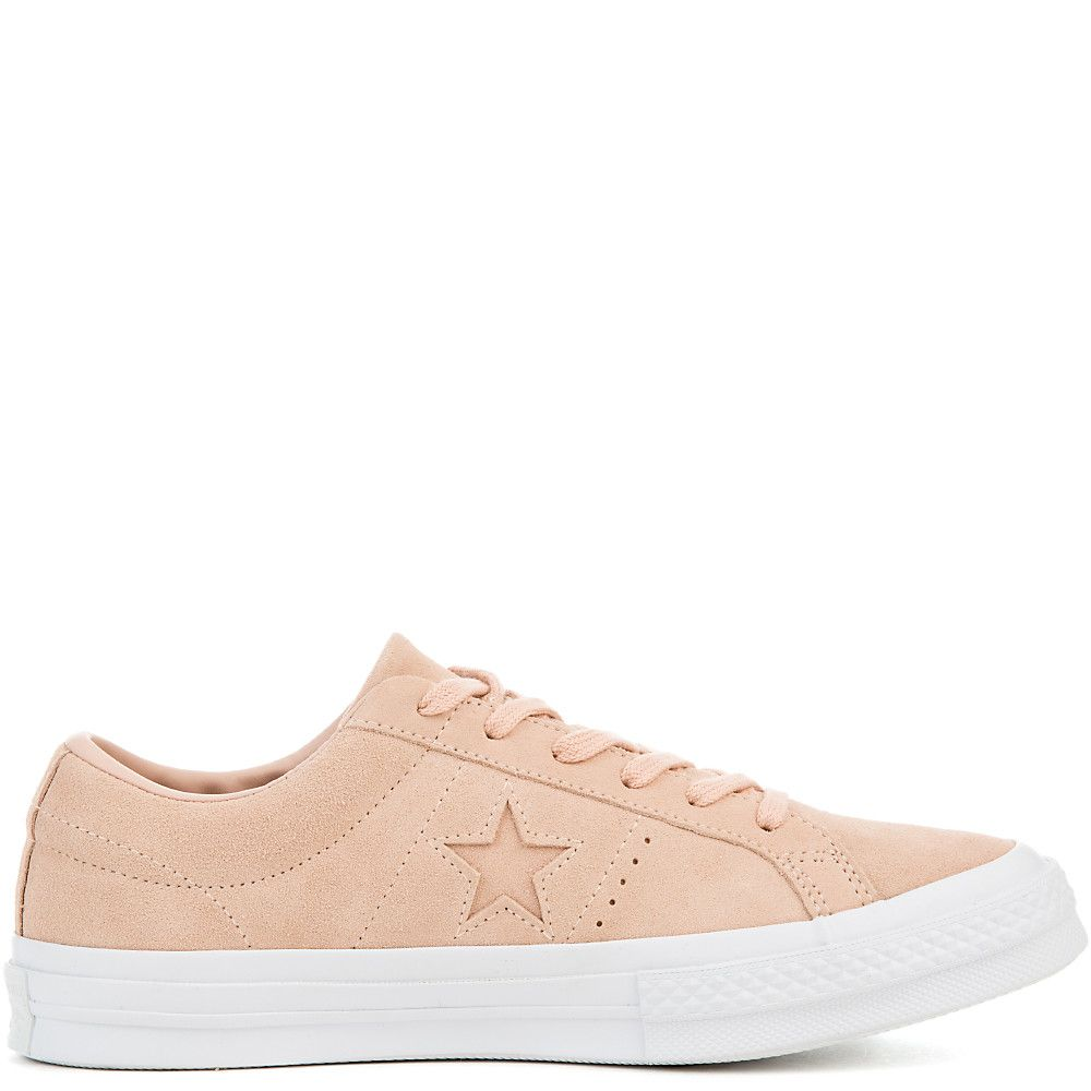 d357edae4ce Women s One Star Suede Ox Sneaker dusk pink dusk pink white
