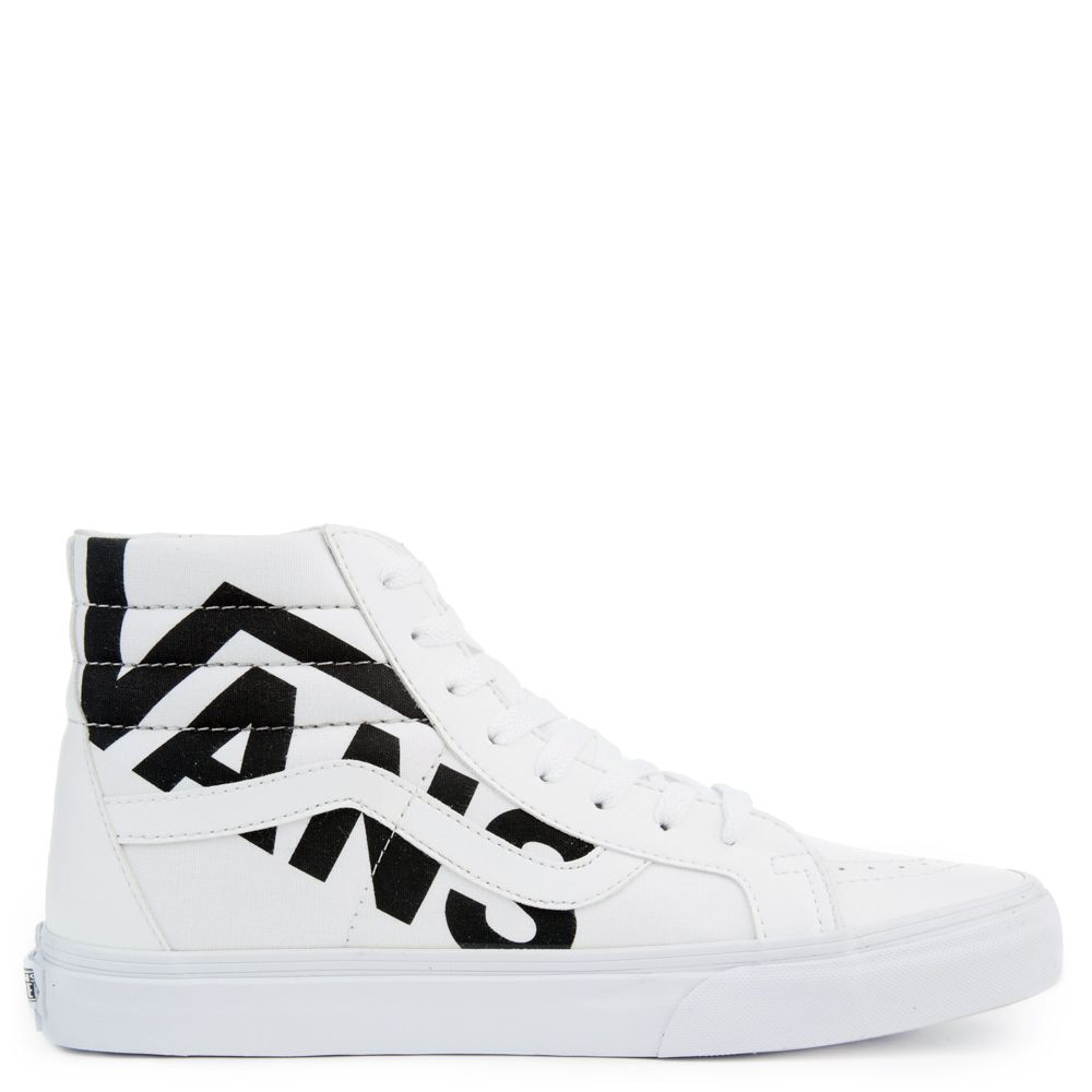 UNISEX VANS SK8-HI REISSUE WHITE/BLACK