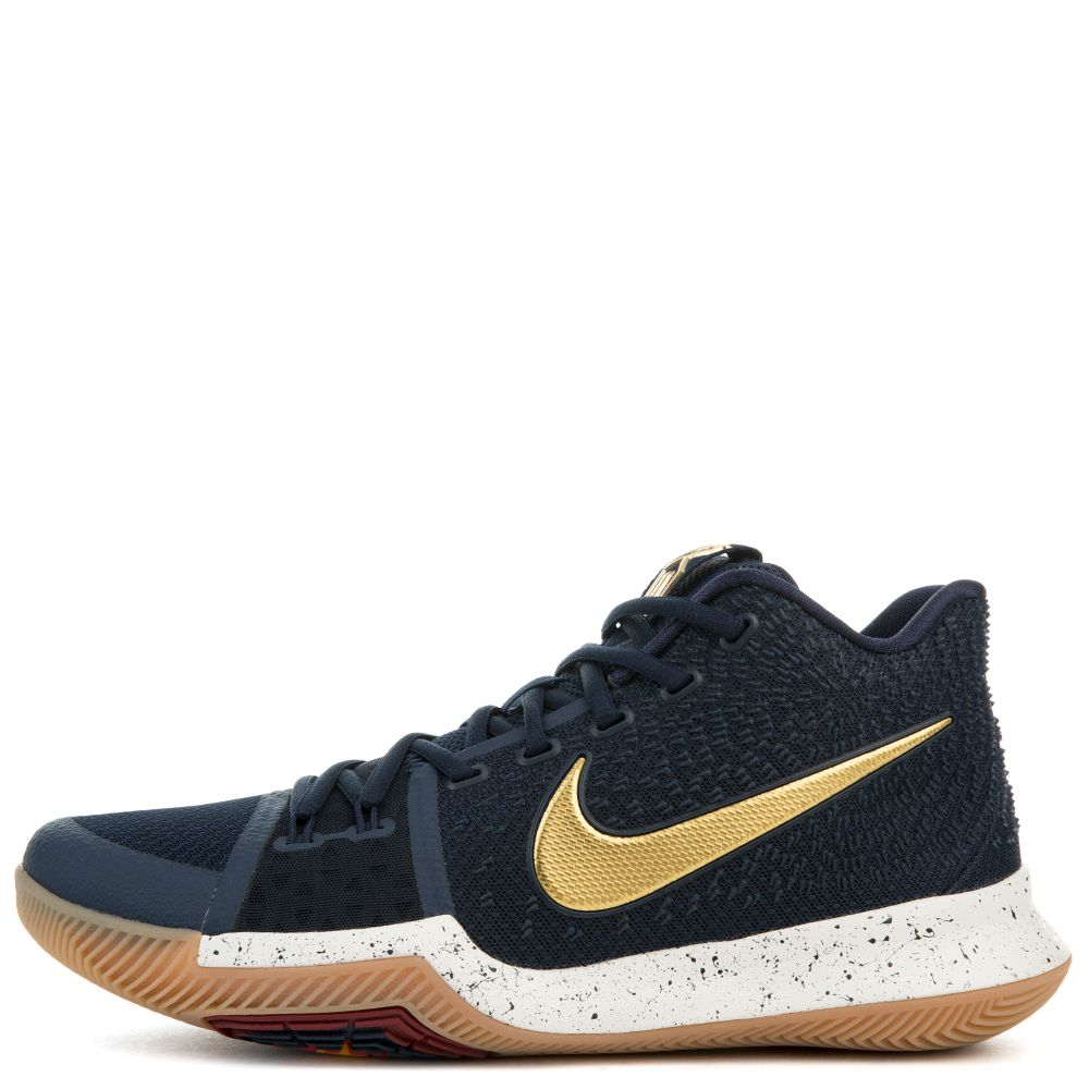 e02b2003010c KYRIE 3 OBSIDIAN METALLIC GOLD-SUMMIT WHITE