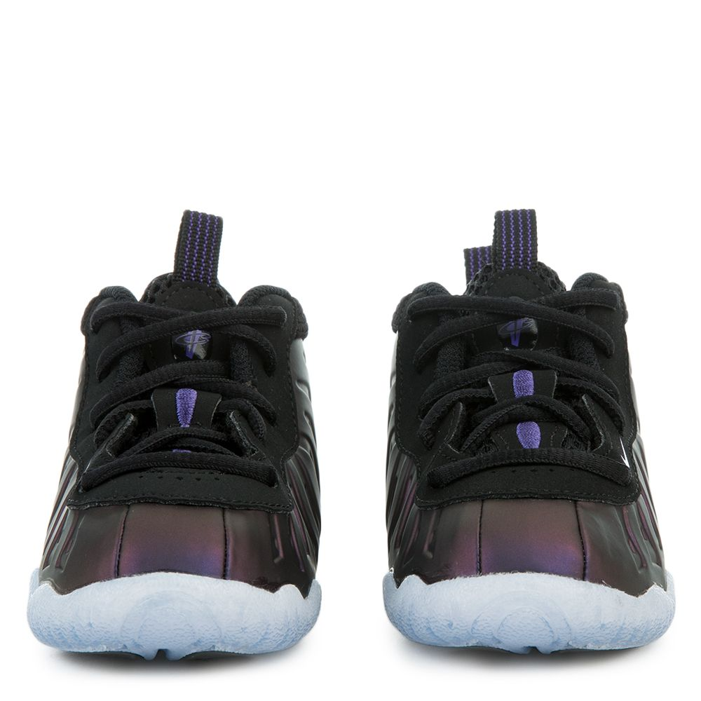 sports shoes c2825 c7830 Little Posite One BLACK VARSITY PURPLE-VARSITY PURPLE