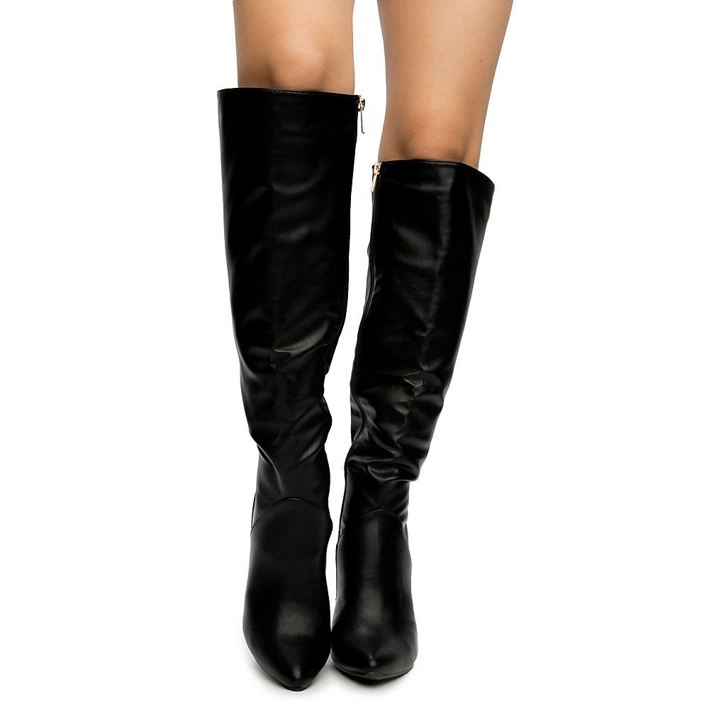 11d095c2b64 Women s Pledge-45m High Knee High Boot BLACK