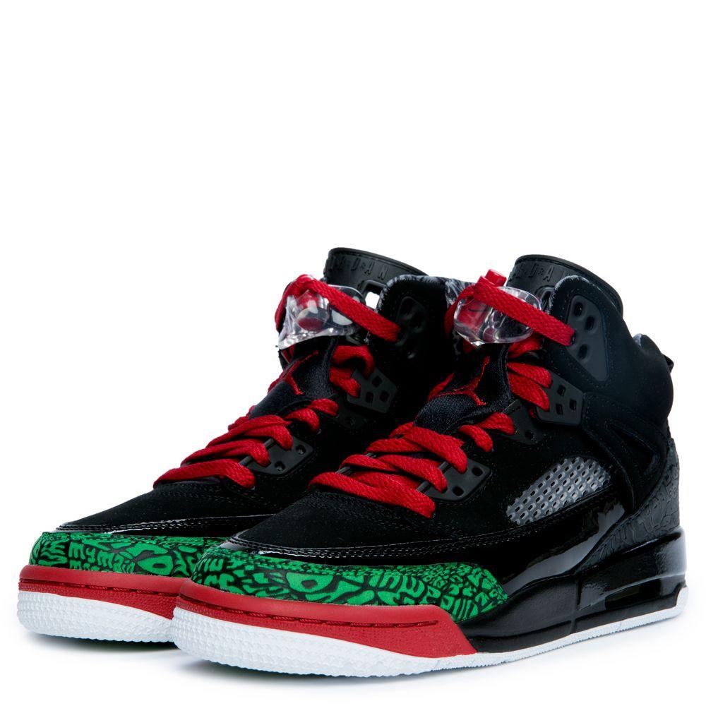 3ecfab65eead Jordan Spizike BLACK VARSITY RED CLASSIC GREEN WHITE