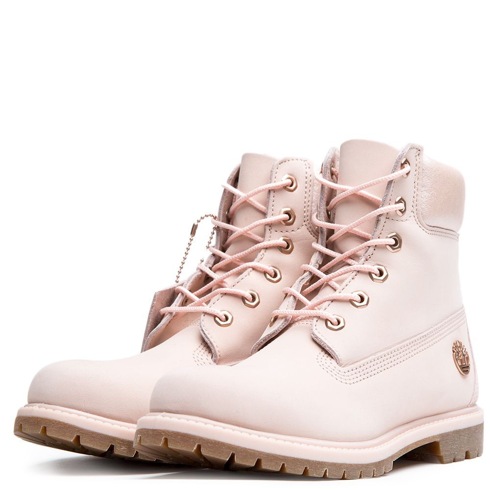 8caa9cd096bc Women s 6 Inch Premium Icon Boot LIGHT PINK NUBUCK
