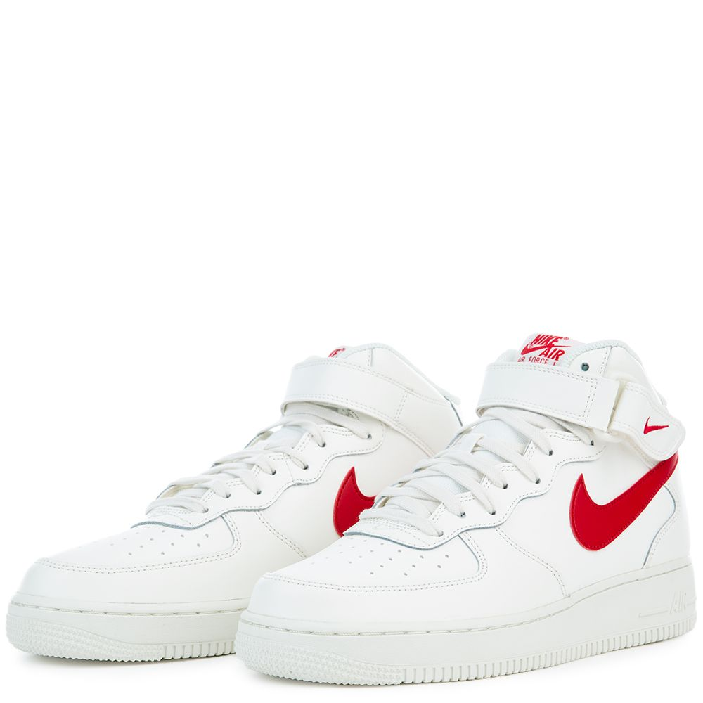 2d758b9d7fccb7 AIR FORCE 1 MID  07 SAIL UNIVERSITY RED