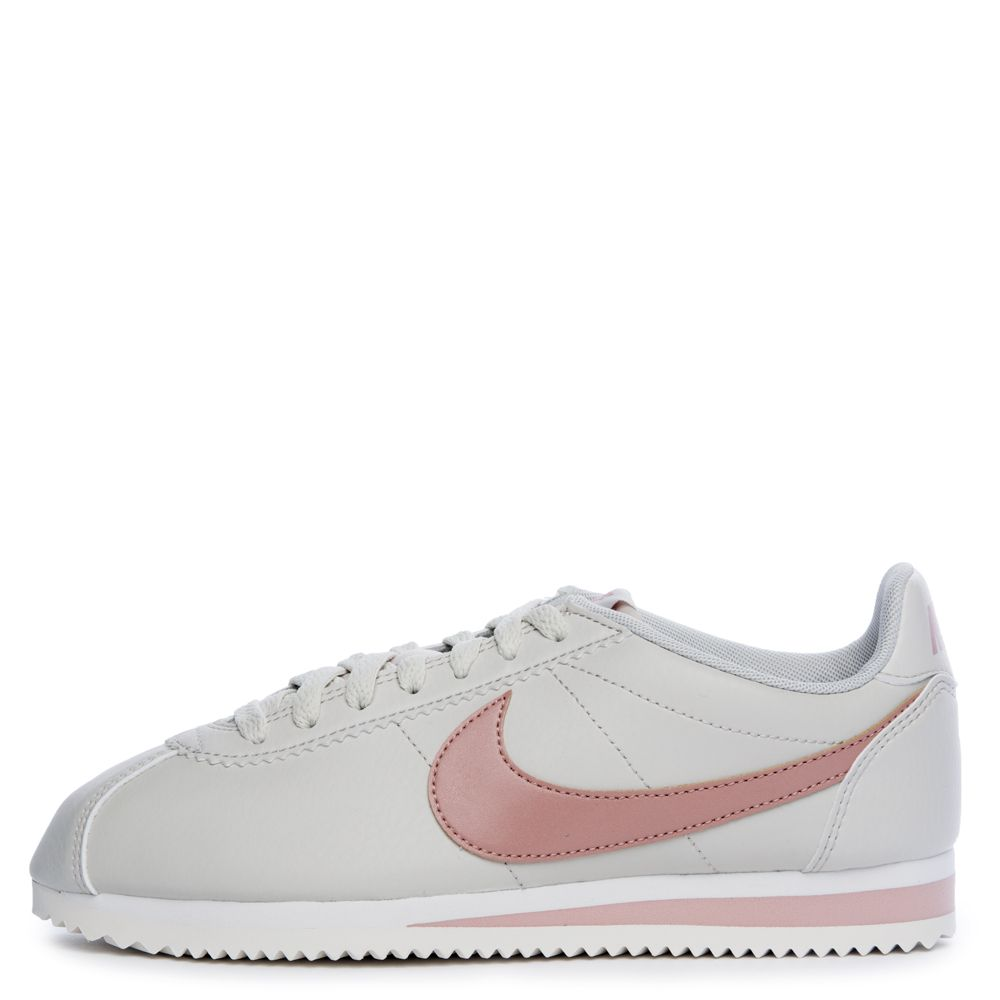 competitive price 714cb 9afec WOMEN S NIKE CLASSIC CORTEZ LIGHT BONE PARTICLE PINK-SUMMIT WHITE