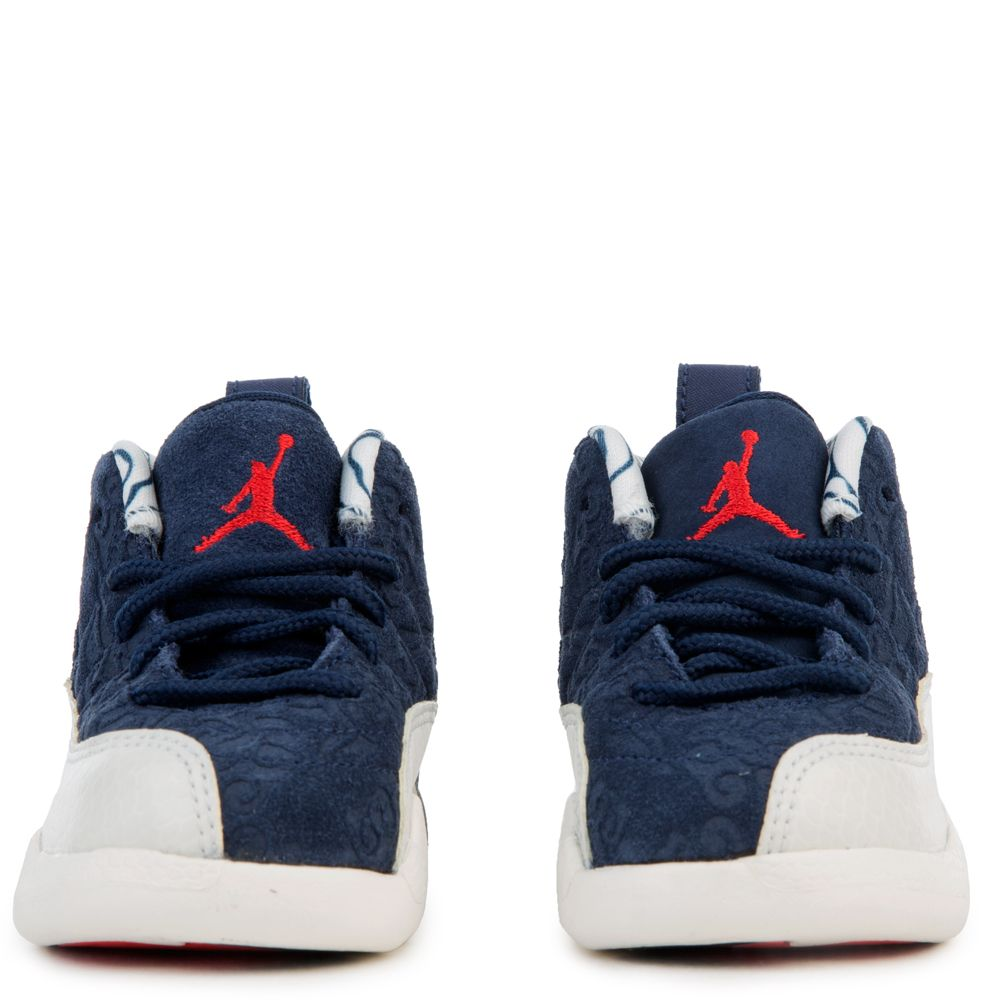 buy popular c9f34 d90b0 (TD) JORDAN 12 RETRO BT COLLEGE NAVY UNIVERSITY RED-SAIL