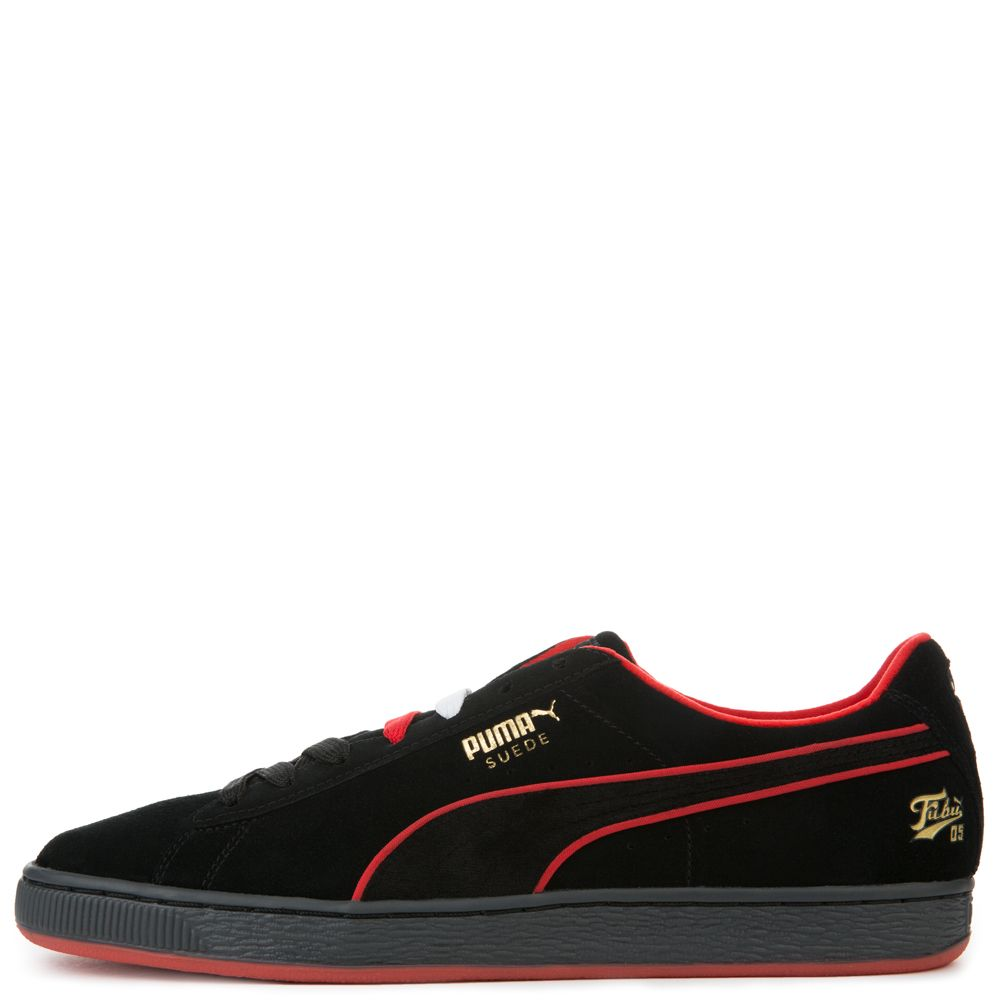 MEN S PUMA X FUBU SUEDE BLACK bc19d67be
