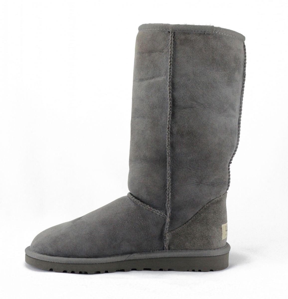 ugg classic tall grey