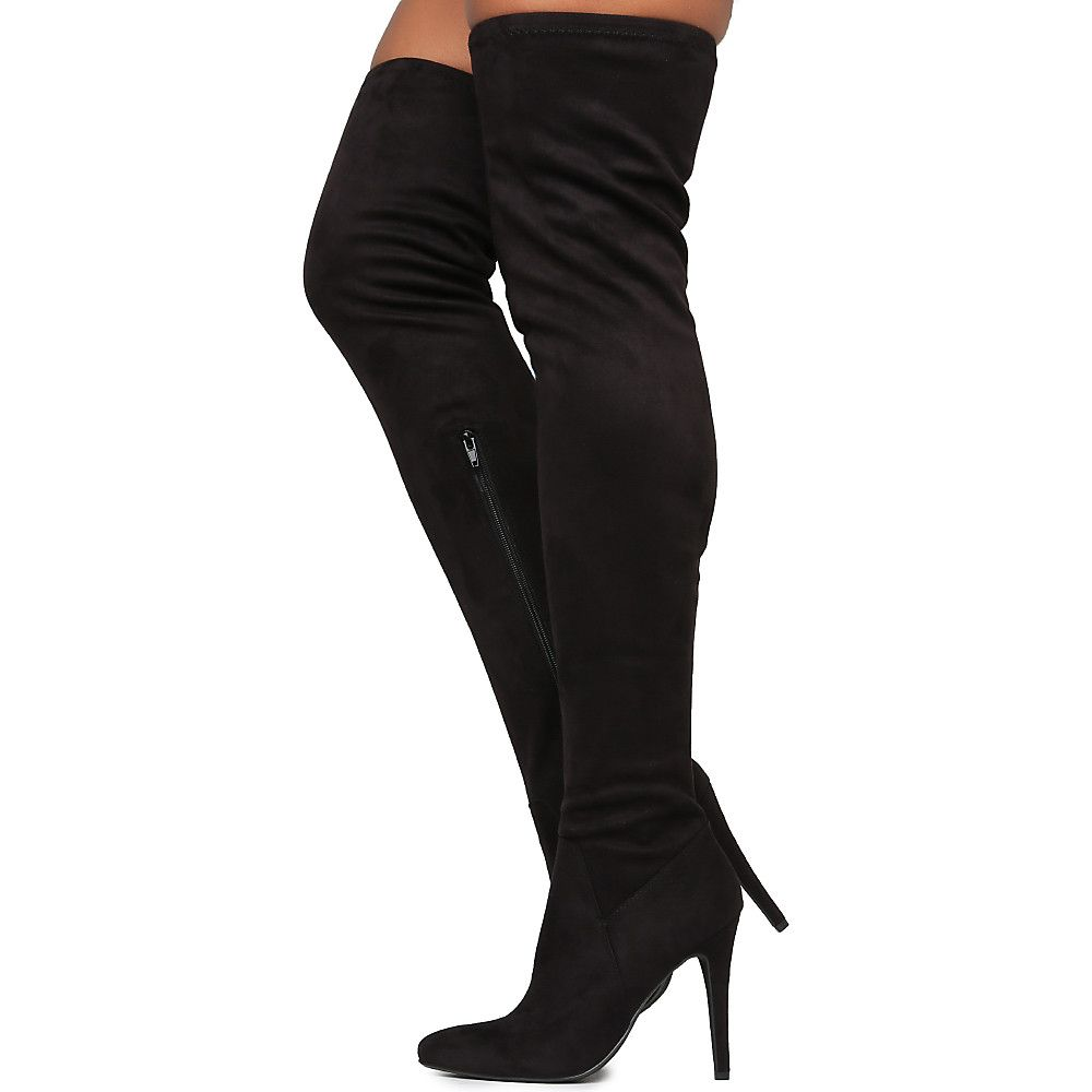 cf17769eb48 Women's Yestin Thigh High Boot Black