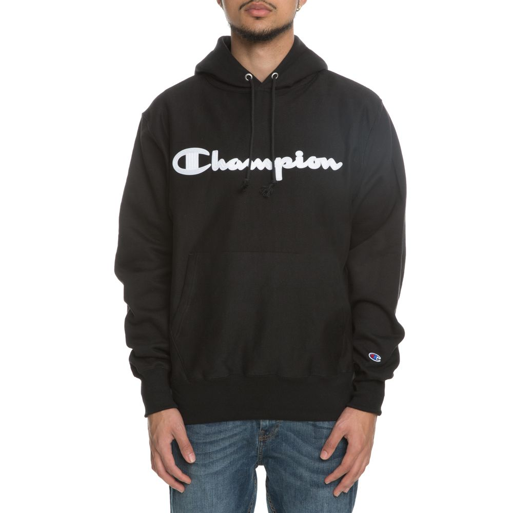 d2a7d6a2e5 MEN S CHAMPION REVERSE WEAVE HOODIE BLACK