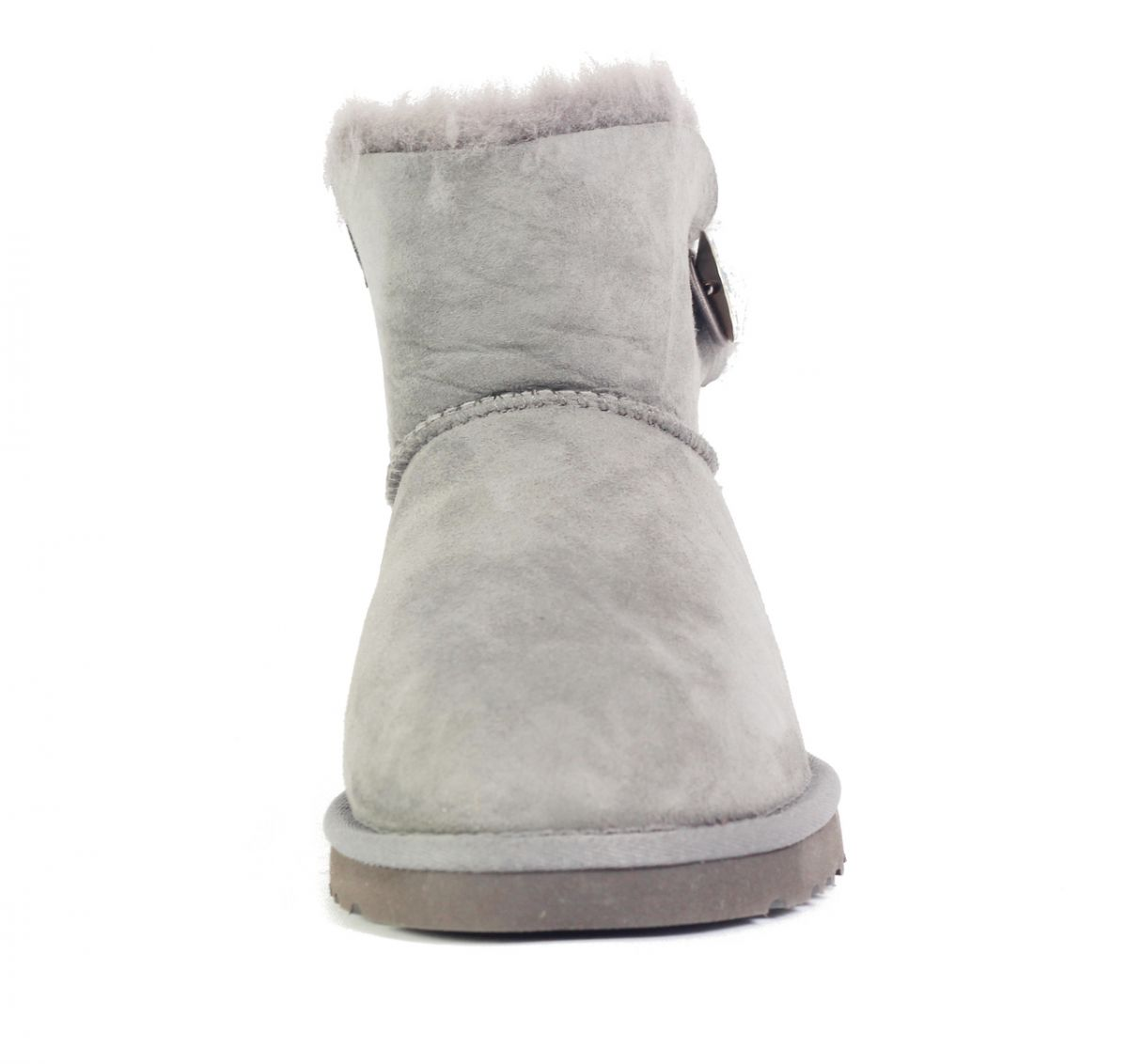 6e4d249fdc4 UGG Australia for Women: Mini Bailey Button Bling Grey Boots Grey