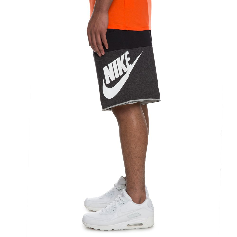MEN S NIKE SHORT FRANCHISE FT GX3 BLACK BLACK HEATHER WHITE fc55196980