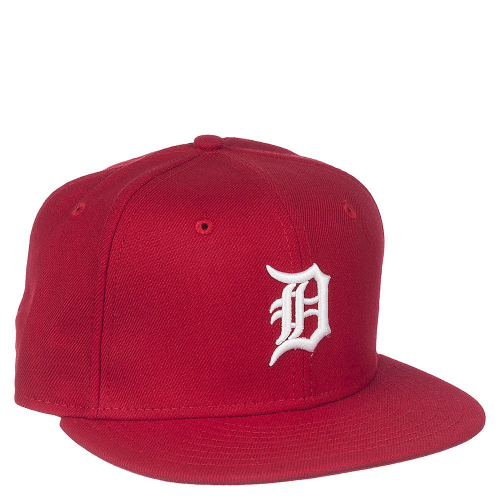 huge inventory 5764c fc839 ... best red white detroit tigers fitted cap 73f9b a9c96 ...
