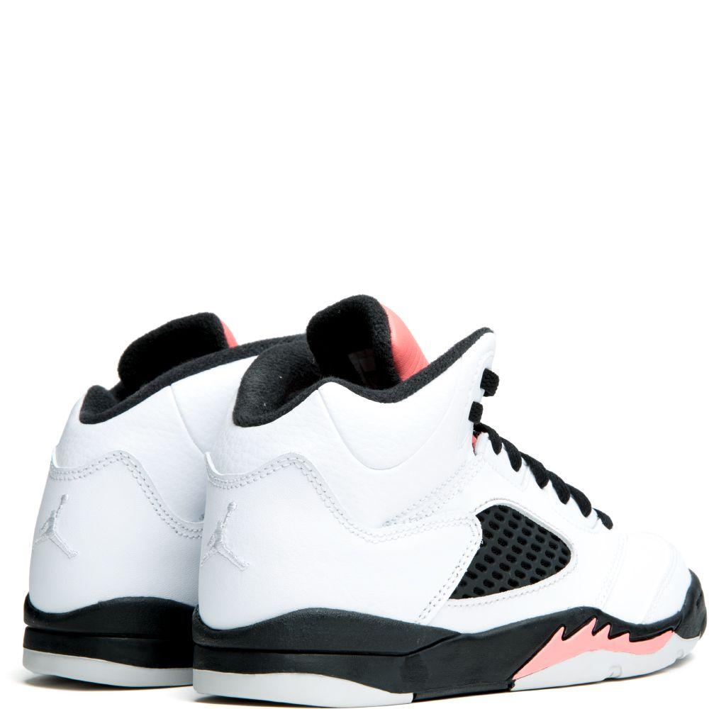 5042e63b13e Jordan 5 Retro WHITE/WHITE-SUNBLUSH-BLACK
