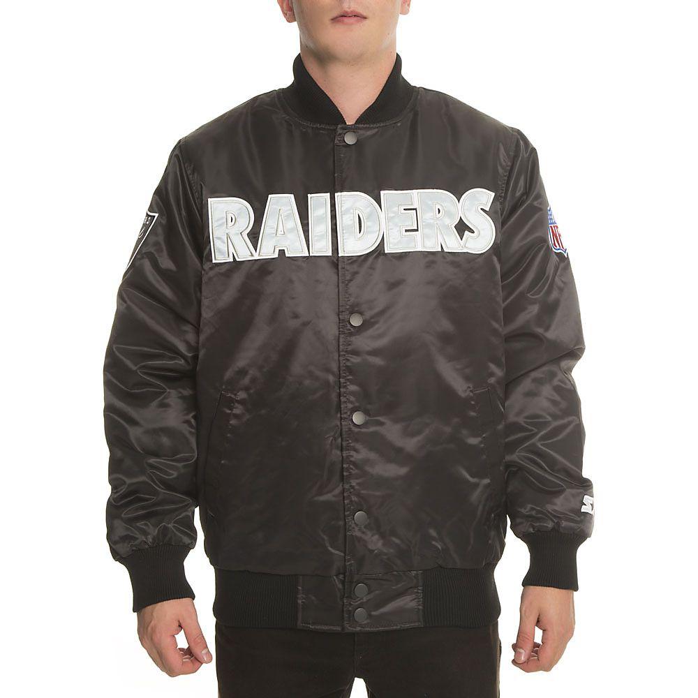 61d135248dc Men's Oakland Raiders Jacket   Shiekh Shoes
