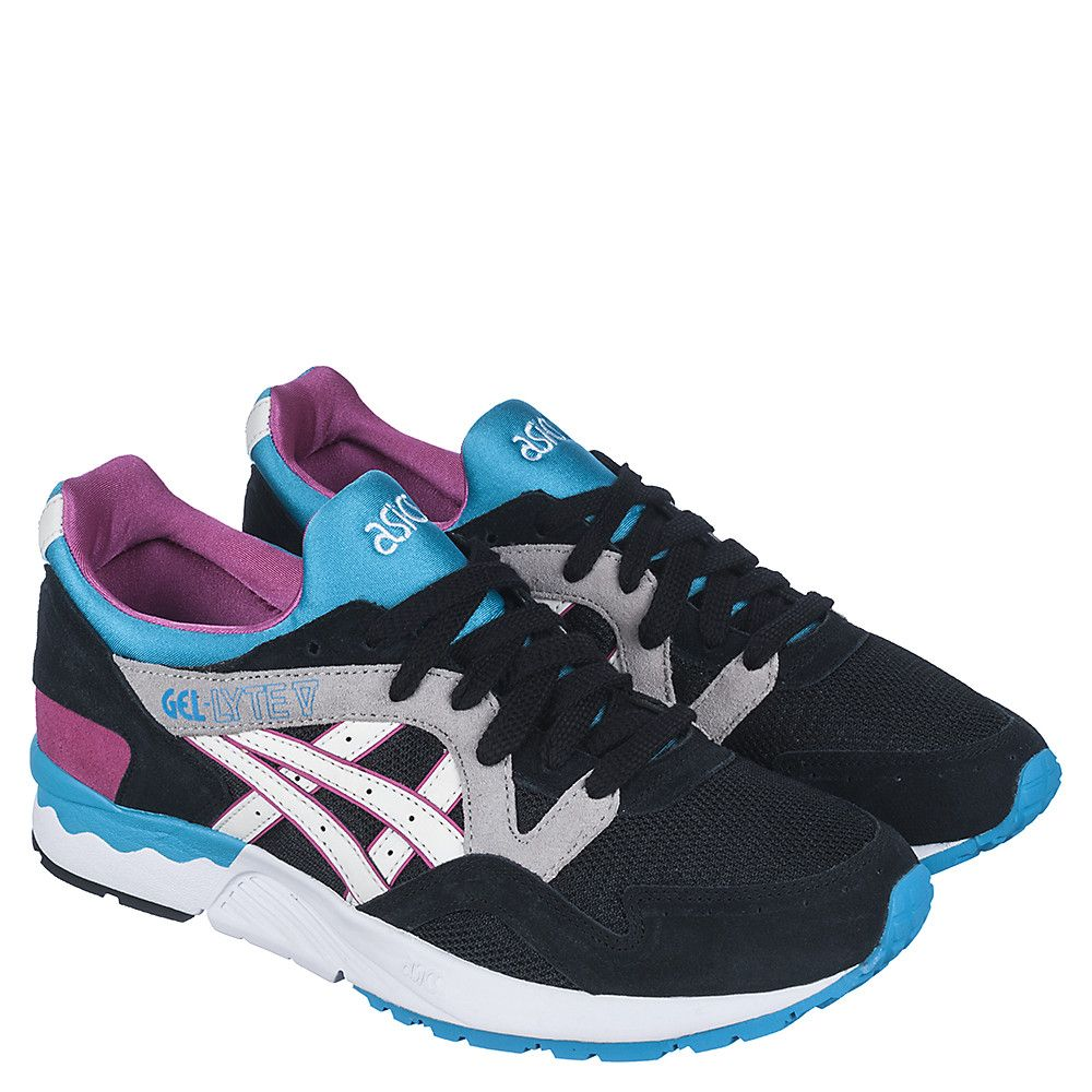 size 40 2c357 11890 Asics Gel-Lyte V Men s Black Casual Lace Up Sneaker   Shiekh Shoes