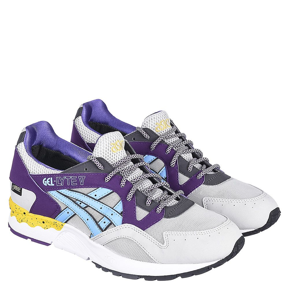 free shipping e09c8 f344b Men s Casual Sneaker Gel-Lyte V Grey Purple Yellow