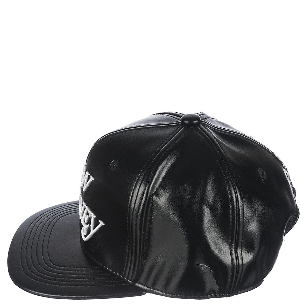 Rock Smith New Money Men s Black Leather Snapback Hat  b1fd628c0613