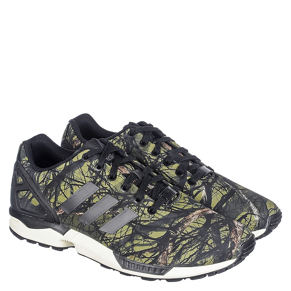 36f33b6a7 Adidas ZX FLUX Men s Green Running Shoe