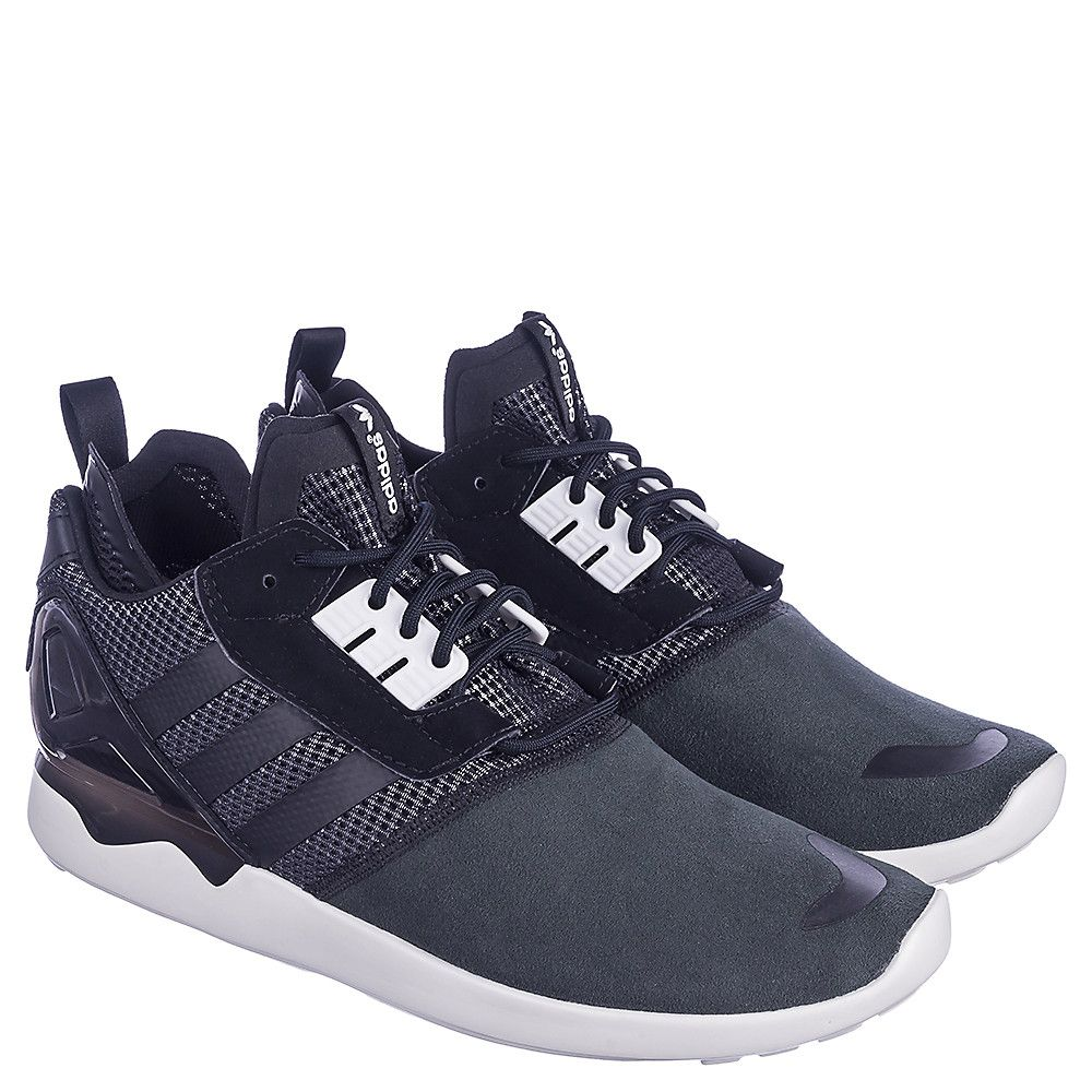 d8c5a68a024 adidas ZX 8000 Boost Men s Black Athletic Lifestyle Sneaker