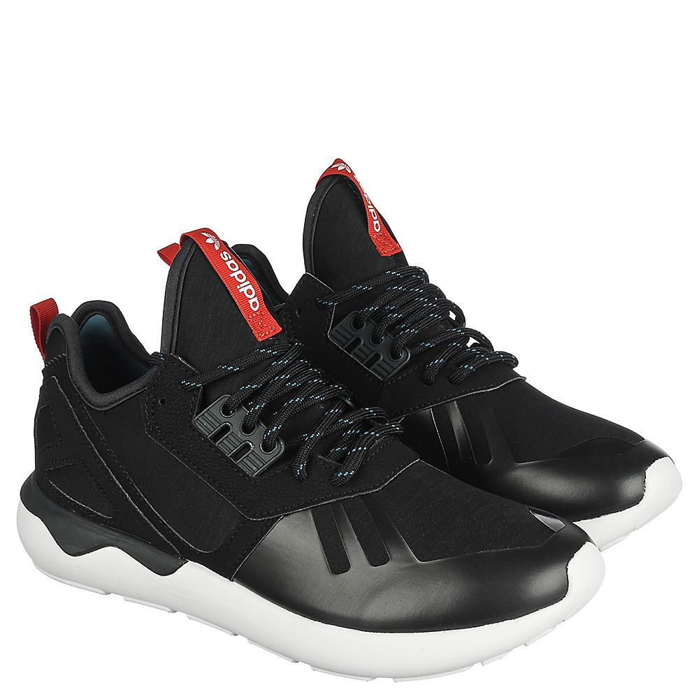 6a9f39e92871b0 adidas Tubular Runner Weave Men s Black Running Sneaker
