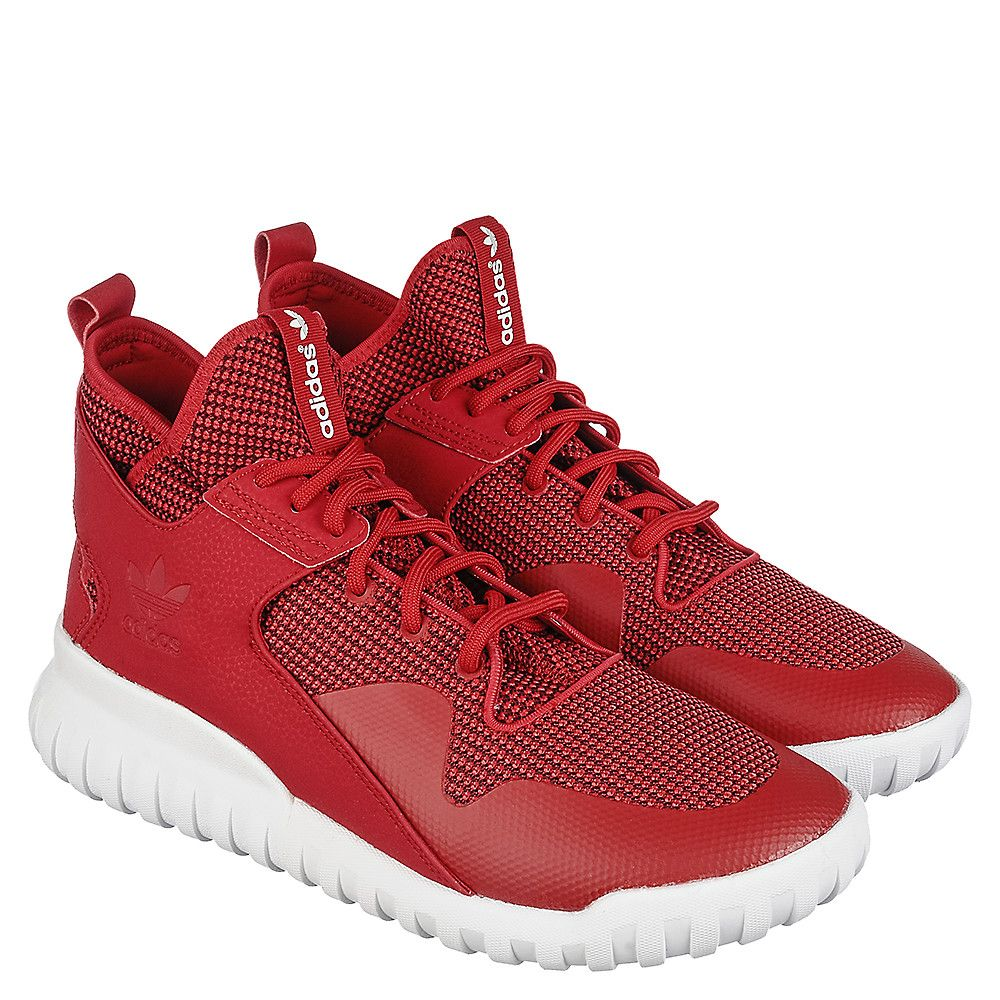 adidas Tubular X Men s Red Athletic Lifestyle Sneaker  c753f62518