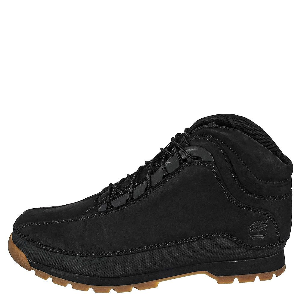 8a1c6a965105 Timberland Euro Dub Men s Black Casual Lace-Up Boot