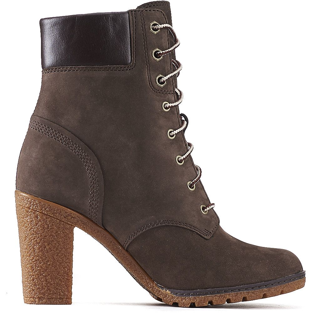 591956780c13 Timberland Glancy 6 IN Women s Brown Low Heel Ankle Boots