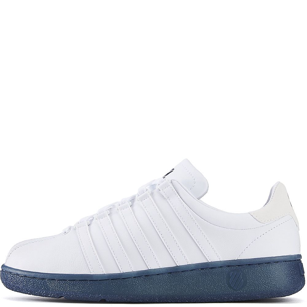 d2ab81c94083 K-Swiss White   Blue Men S Classic Vn Reflective Casual Sneaker ...