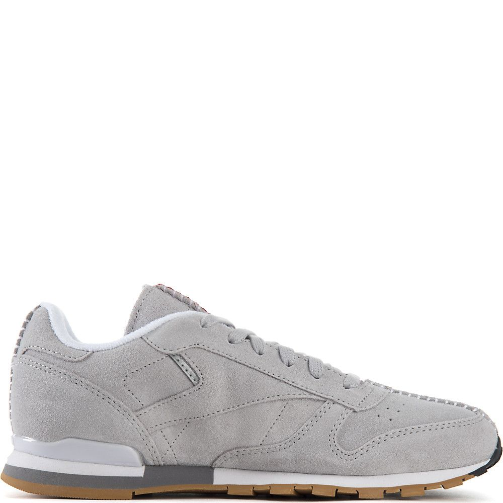 446e93c919268f Grey Royal Red White Men s Kendrick Lamar Classic Leather Athletic  Lifestyle Sneaker