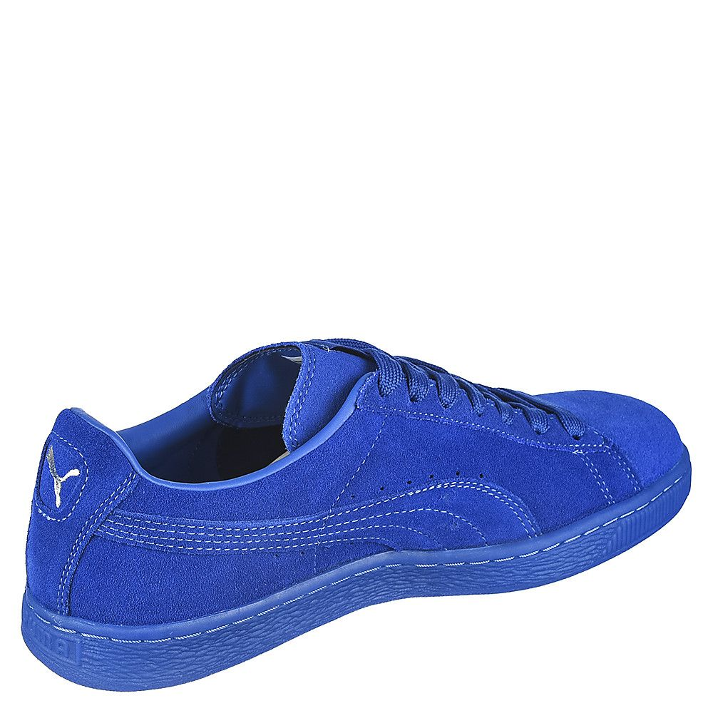 size 40 d6b60 319f9 Royal Blue Men's Casual Sneaker Suede Classic + ICE
