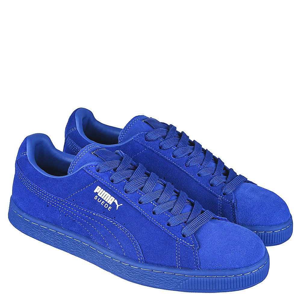 ec07b841 Royal Blue Men's Casual Sneaker Suede Classic + ICE