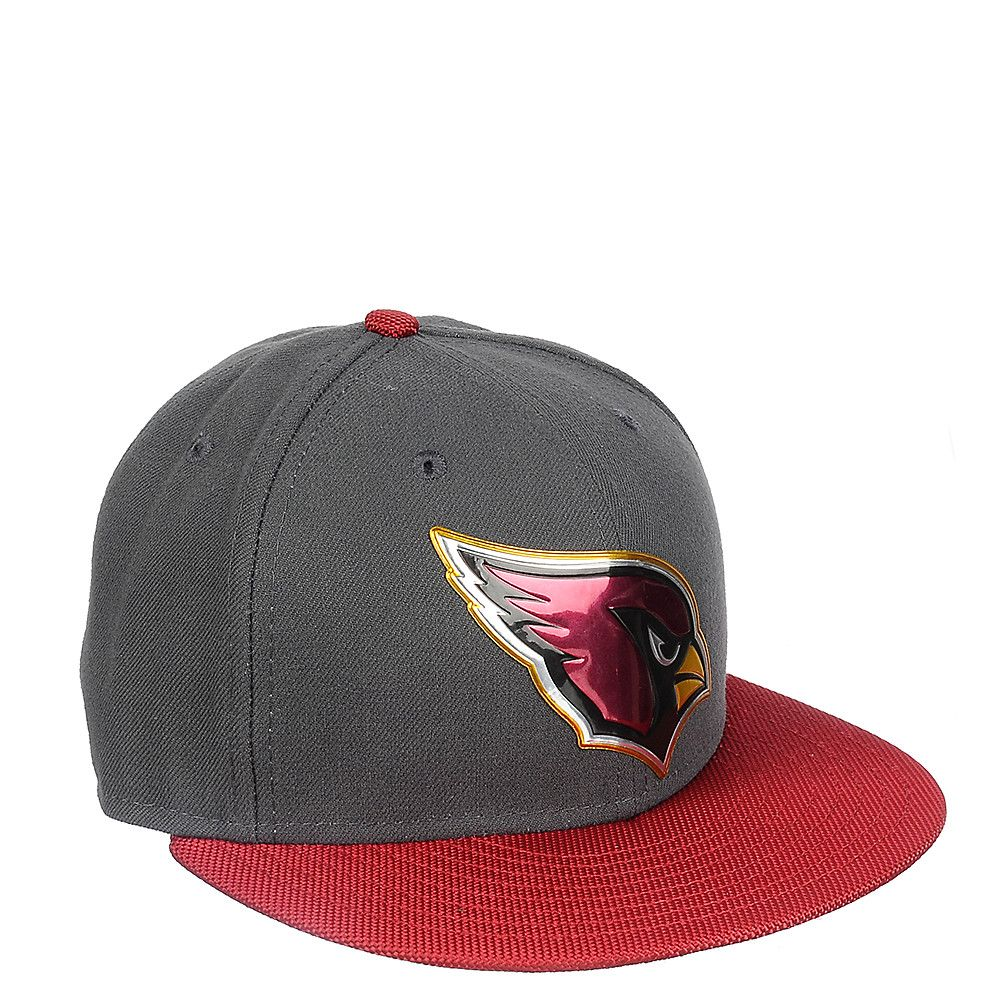 Arizona Cardinals Fitted Cap Grey Maroon c83038124658