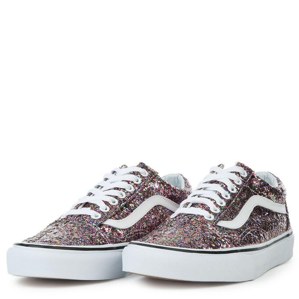 0dd09c68628c Women s Authentic (Chunky Glitter) Sneaker TRUE WHITE