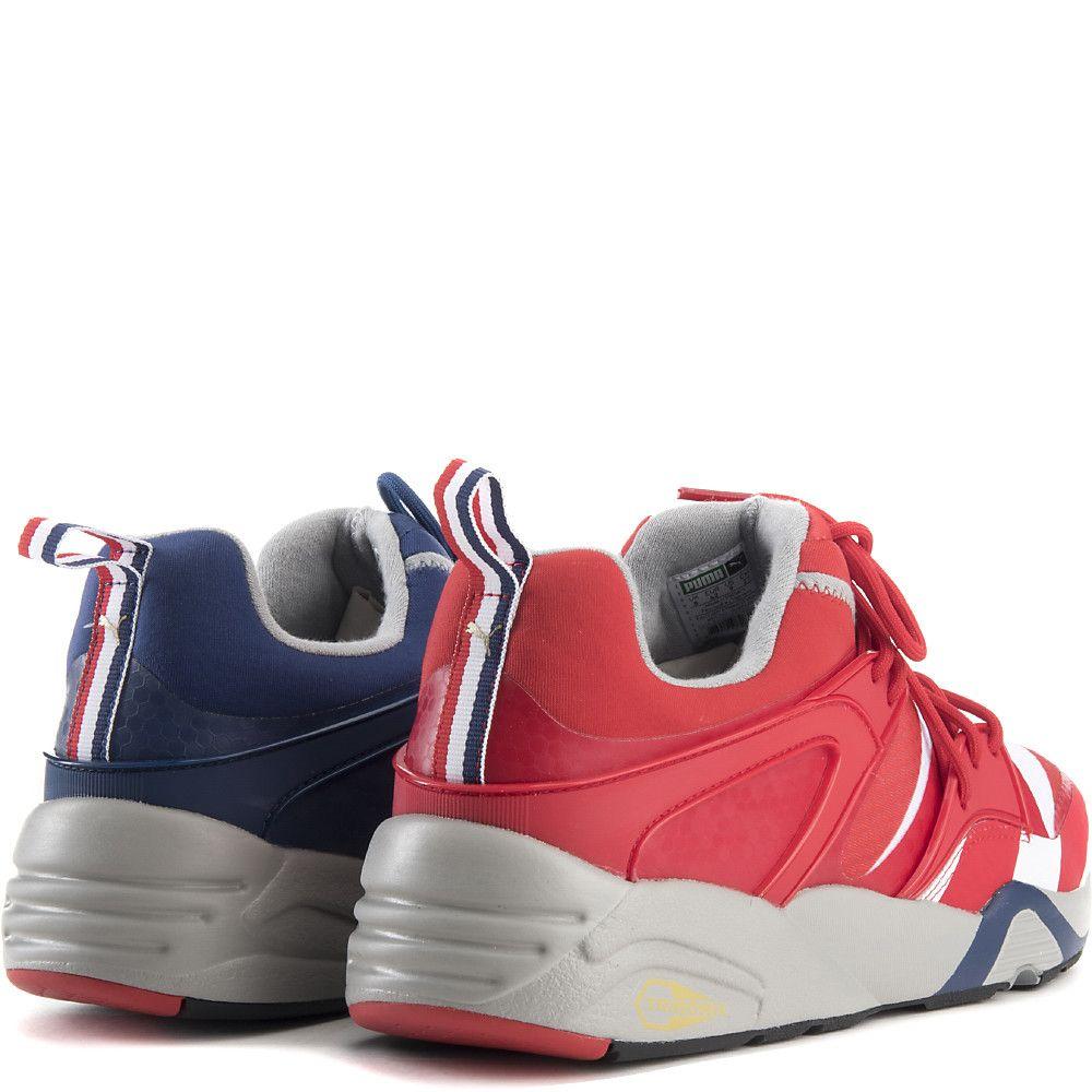 5ef9da10a74 Men s Blaze of Glory BAU Casual Sneaker Red White Blue