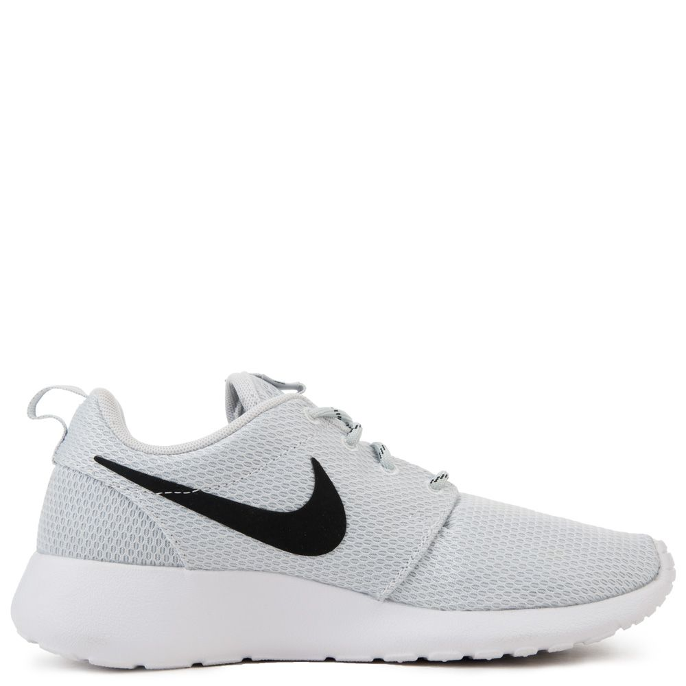new concept d61f9 b81b7 WOMEN S NIKE ROSHE ONE PURE PLATINUM BLACK WHITE