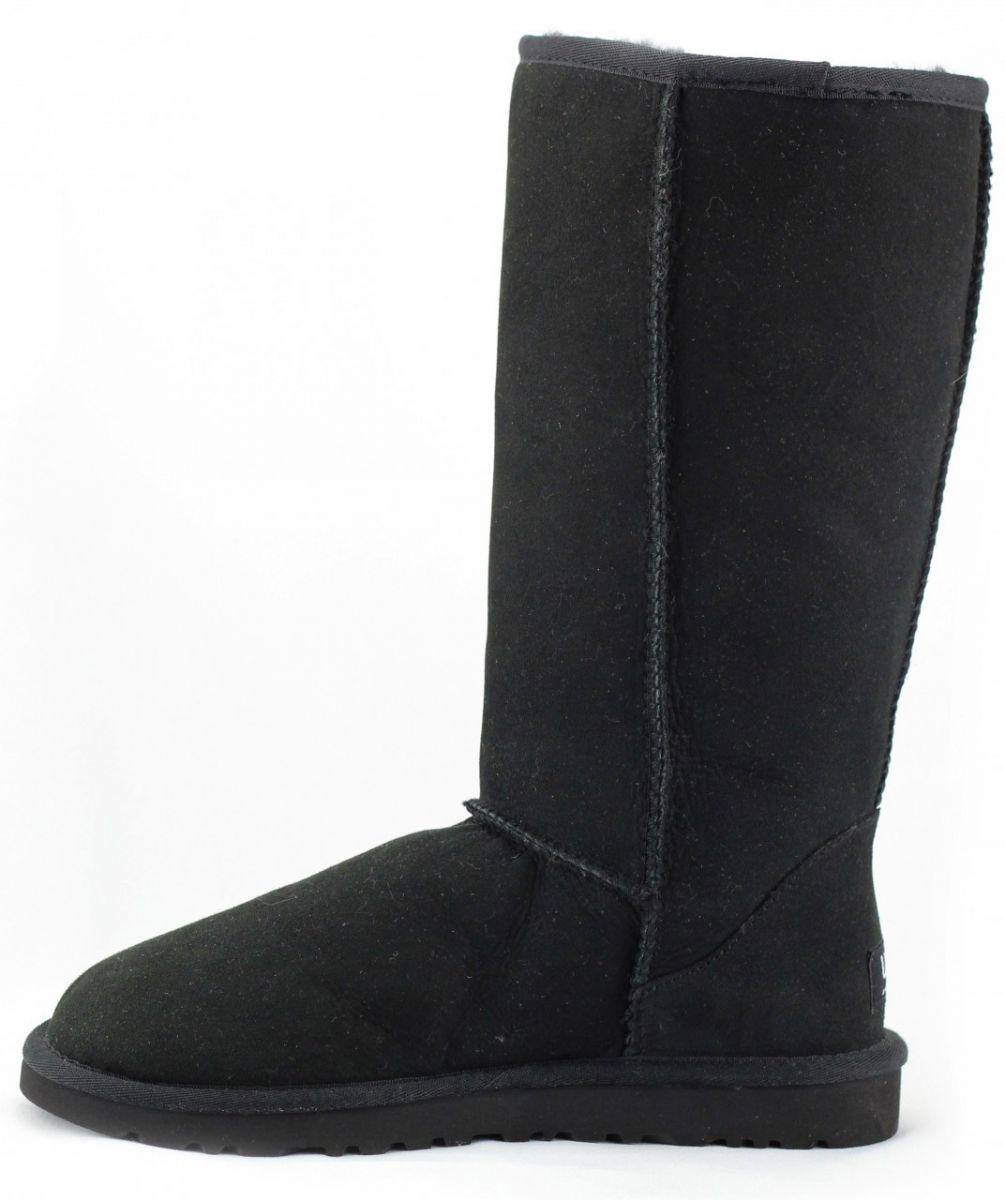 womens ugg classic tall black boots